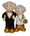 50 jaar getrouwd bruidspaar figuurtje