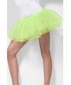 Fel groene petticoat voor dames