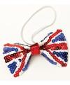 Vlinder strik met Engelse vlag