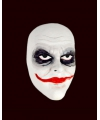 Luxueus witte Joker masker