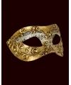 Luxueus muziek Venetiaans masker met muzieknoten