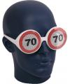 Verkeersbord bril 70 jaar