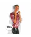 Super voordelige nood/regenponcho 100x