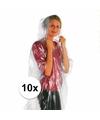 Super voordelige nood/regenponcho 10x