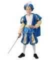 Blauw prinsen kostuum voor jongens
