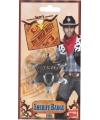 Plastic sheriff ster