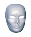 Wit heren gezicht masker