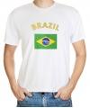 Brazilie vlag t-shirts