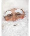 Kerstman wenkbrauwen