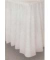 Witte tafelkleed rand
