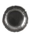 Grote ronde zilveren schaal 45 cm