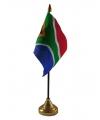 Zuid Afrika vlaggetje met standaard