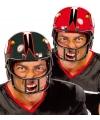 American football rugby helm zwart