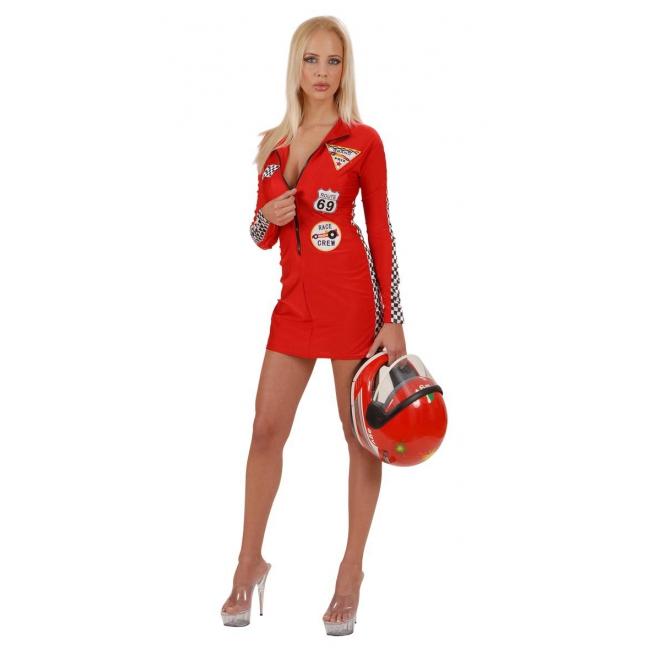 Sexy rood pitspoes pakje voor dames : Fun en Feest
